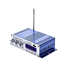12V 2CH Output Power Amplifier With USB / SD Card Player - Blue