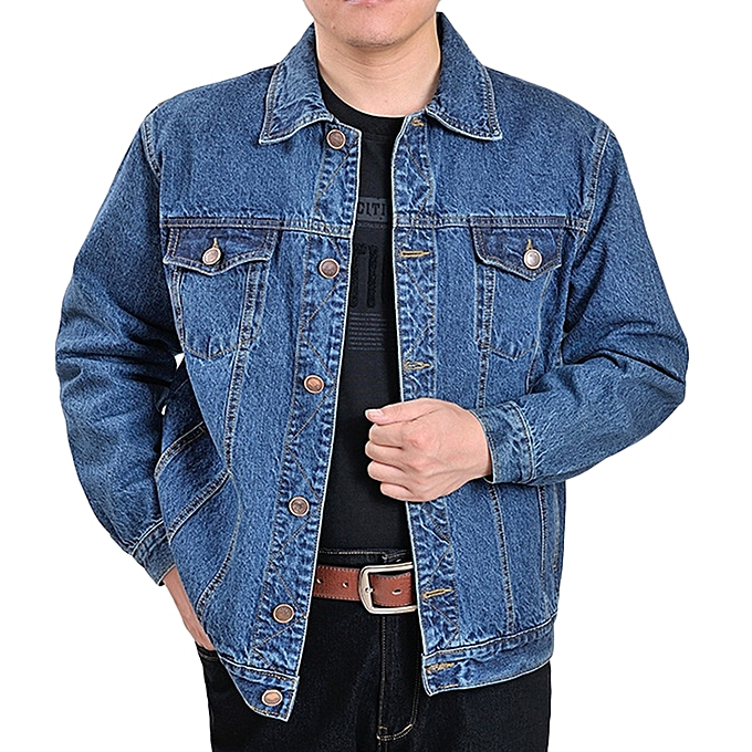 Buy Fashion Casual Fashion Autumn Cotton Classic Denim Jacket For