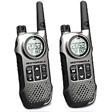 Motorola TLKR T8 Consumer Walkie Talkie Set of 2 WWD