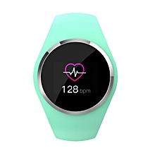 Q1 Smart Bracelet Measuring Heart Rate Pedometer Waterproof Sports Bracelet green