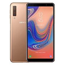 Galaxy A7 2018 - 64GB - 4GB - Triple Camera - Dual SIM 4G – Gold.