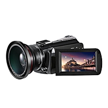 Winait UHD 4k WIFI digital video camera with 3.0'' touch display and 12 x  optical zoom digital camcorder LOOKFAR