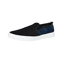 Black & Blue Men's Sneakers
