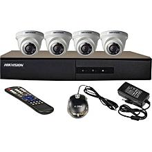 HD 4-Camera  CCTV KIT