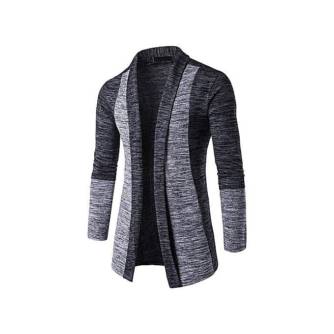 Men's Autumn Winter Sweater Cardigan Knit Knitwear Coat Jacket Sweatshirt