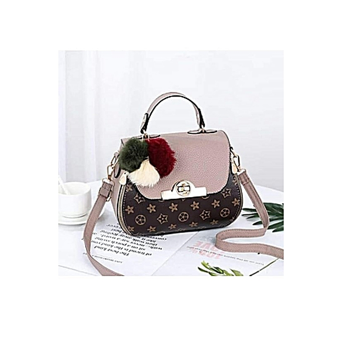 8917618fdf9 PU Leather Sling Bag for Women - Multicolor