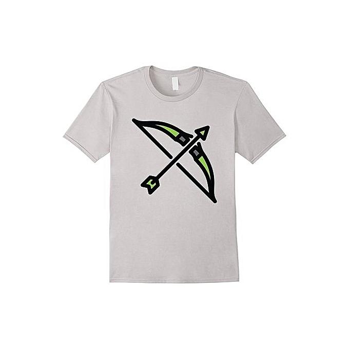 0e0f245b Funny T-Shirt Superhero's Weapon Arrow Bow Tee Cheap Fashion Short Sleeved  Mens Tee Shirt
