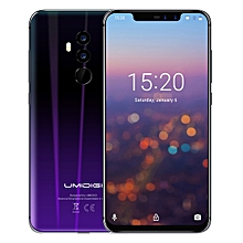 Z2, Dual 4G, 6GB+64GB, Dual Back Cameras + Dual Front Cameras, Face ID & Fingerprint Identification,  6.2 inch Sharp Android 8.1 MTK6763 (Helio P23)  Octa Core up to 2.0GHz, Network: 4G, Dual SIM(Twilight Black)