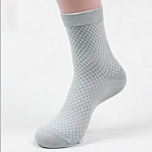 Bamboo Fibre Man Socks Casual Sport Business Fashion Ankle-High Sock Clothing