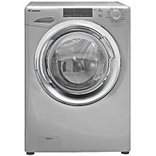 CW/102- Candy 9KG GV159TWC3S/3-80  FL Washing Machine- Silver