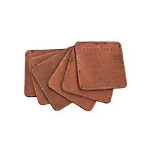 Table Coaster (Set of 6) - Tan Brown