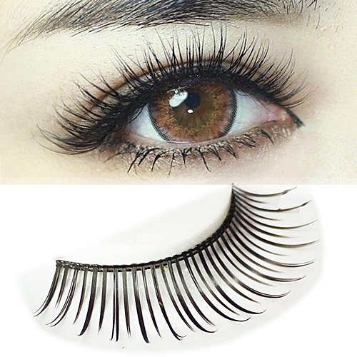 20c3bb731ec Generic Pair of Beautiful Black Natural Long Eyelash @ Best Price ...