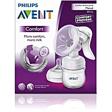 AVENT Manual Breast Pump - Clear
