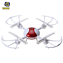 Hunaqi 897C001 2.4G 4CH 6-Axis Gyro 0.3MP Camera RTF Remote Control Quadcopter Drone Toy-RED