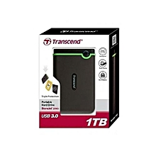 External HDD - 1TB - Black