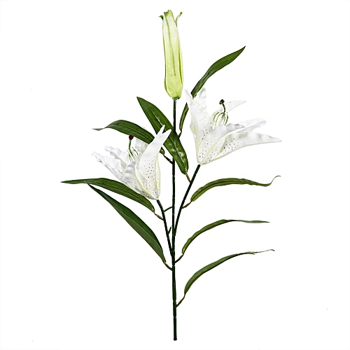 Universal 1pcs Artificial Lily Silk Flowers Real Touch Flower Home