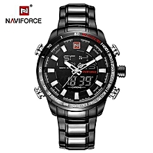 new luxury brand men sports army military watches mens quartz digital full steel waterproof wrist watch relogio masculino