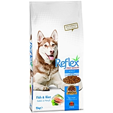Reflex Adult Dog Food Fish & Rice - 15kg