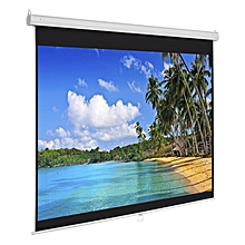 """Electric Wall-Mount Projection Screens 70"""" * 70"""""""