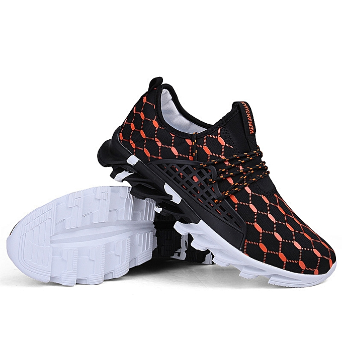 differently 82305 ca4c6 Outdoor Breathable Motion Training Running Shoes Men Comfortable Athletic  Shoes Sport Shoes Cheap Men Ultralight Fitness Sneaker Orange