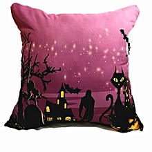 Happy Halloween Throw Pillow Case Cushion Cover Home Sofa Decor New Mat