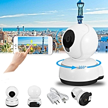 Wireless 720P Pan Tilt IP Camera Security Network Night Vision Support Up To 64GB Card Video Record