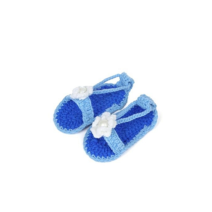 b4df62da8f2d Neworldline Baby Girl Crib Crochet Handmade Knit Sock Infant Shoes ...