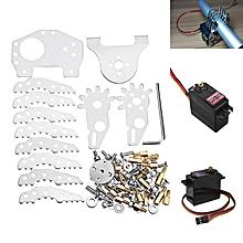 G6 Aluminum Alloy Mechanical Robot Paw DIY Kit With DT-3316 Digital/MG996R Servo Type #1