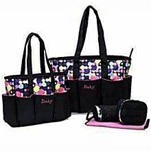 Shoulder diaper bag-Multicolor