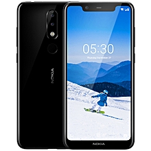 X5 4G Phablet 5.86 Inch Android 8.1 Helio P60 Octa Core 3GB RAM 32GB ROM 13.0MP + 5.0MP Rear Camera- Black