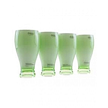 Acrylic Jug & 4 Glasses - Green