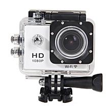 Wifi SJ4000 1080P 12MP Car Cam Sports Camera DV ActionWaterproof(White) JY-M