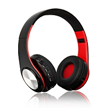Wireless Bluetooth Headphones Foldable Over Ear Stereo Music Headsets TF Card MP3 Player FM Radio 3.5mm Wired Earphone Hands-free w/ Microphone