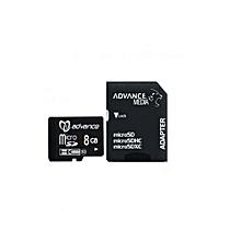 8GB - Memory Card - Black