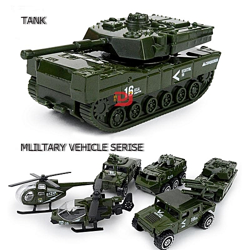 Buy Generic 6 Pcs American Soldier Model Military Vehicle Helicopter