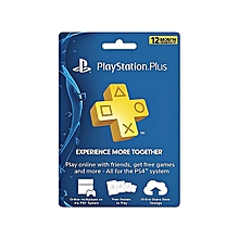 Playstation Plus 12 Month Membership Subscription Card - US PSN CARD