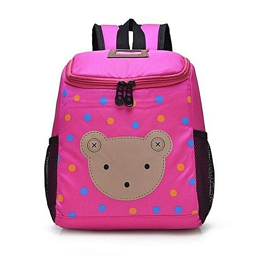 Generic Little Star And Bear Pattern Nursery Children School Bags For Girls  And Boys Nursery School Bags Kids Mini Backpack Sac Enfant(Rose)