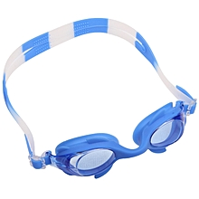 Professional Swimming Goggles With Ear Plug For Children(blue)