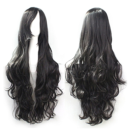 Generic Africanmall Store Cosplay Costume Wigs Women Long Curl Wavy