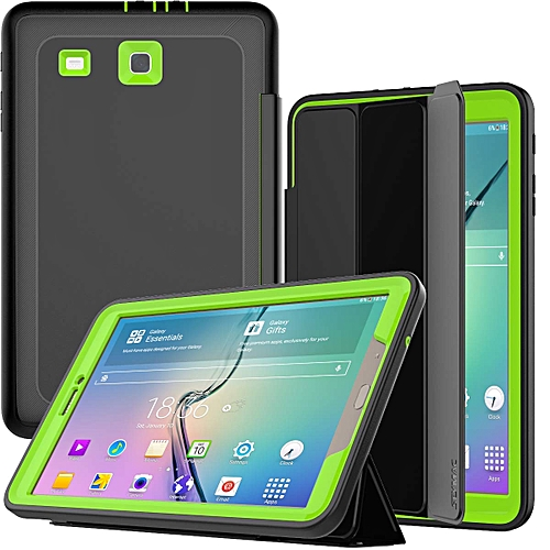 new arrival d0e72 49e08 Galaxy Tab E 9.6 Case, SM-T560 Case - Heavy Duty Full Body Protection  Trifold Stand Cover for Samsung Galaxy Tab E 9.6-Inch Tablet  (SM-T560/T561), ...