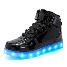 Black LED Sneakers