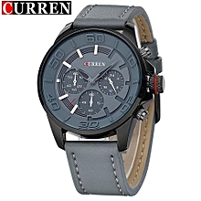 CURREN Watches Men Brand Luxury Quartz Watch Casual Sport Mens Wristwatch Waterproof Leather Strap Relogio Masculino