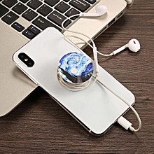 Round Shape Printed Phone Stand Mount Holder Balloon Stent