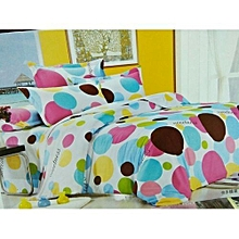 Duvet - Multicolored with a 1 Bed sheet,2 pillows