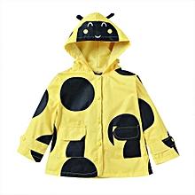 Girls Outwear Raincoat - Yellow - 110