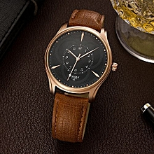 Quartz Watch Men Watch Luxury Wristwatch Fashion Male Clock