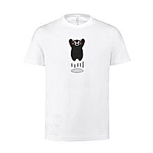 XIAOMI KumamonPure Cotton Women Short-sleeved Round Neck T-Shirts Summer Leisure Tees
