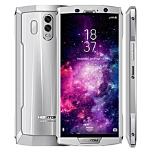 HT70 4GB+64GB Dual Back Cameras 10000mAh Battery 6.0 inch Android 7.0 MTK6750T Octa Core up to 1.5GHz 4G Smartphone(Silver)