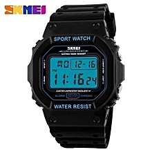 relogio masculino multifuctional fashion sports chronograph digital led watches rubber strap 50m waterproof wristwatches