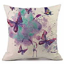 Countryside Style Throw Pillow Cases Cafe Sofa Cushion Cover Home Decor